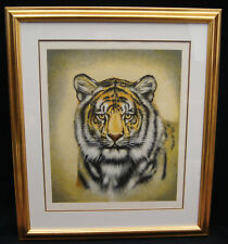 "Martin Gilbert Katon ""Siberian Tiger"" Signed Serigraph LE #129/250 Frame 37""x32"""