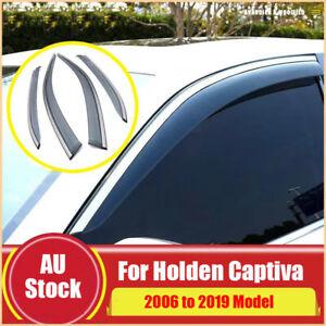 Weather Shields Weathershield for Holden Captiva 06-19 Window Visor Rain Guard