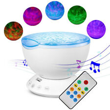 Relax Projector Music Ocean Wave LED Night Light Remote Lamp Kids Sleep Gift AU