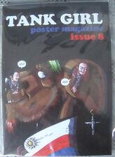 Tank Girl Poster Magazine Issue  # 8 Signed by Alan Martin w/ Jamie Hewlett Art