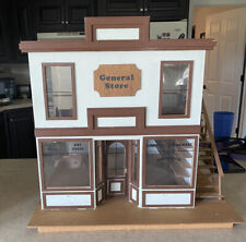 Vintage Old Country General Store Dollhouse Miniature Kit Assembled