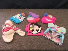 6 Girls Youth Winter Clothing Accessories Hat Beanie Gloves My Little Pony Cold