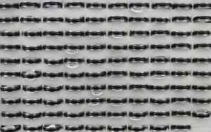 100stk Großhandel Bulk Lots Edelstahl Ringe Drehung Mode einfach Unisex Ring
