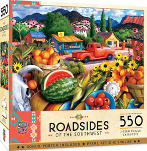 Masterpieces Puzzle Roadside of the Southwest Summer Fresh Puzzle 550 pieces