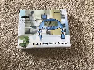 Handheld body Fat/ dehydration Monitor model HF10 new in box