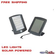 LED Flood Light Spot Light Motion Detector Solar Power House Home Garage Shed