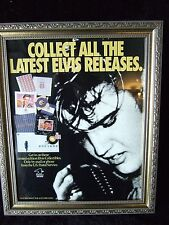 "*EXTREMELY RARE*""Collect All The Latest Elvis Releases"" US Postal Service Poster"