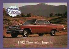 1962 Chevrolet Impala, Dream Machines, Cars, Trading Card, Auto - Not Postcard
