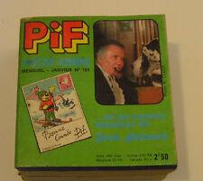 ( No Pif Gadget )  PIF  POCHE   N° 101