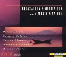 Relaxation & Meditation with Music & Nature Various Artist (5 CD Laserlight) NEW