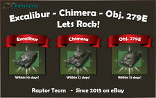 World of Tanks WOT Obj 279 E Chimera and Excalibur Personal Missions