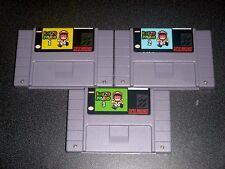 Kaizo Mario Trilogy Set 1 2 and 3  - game For SNES Super Nintendo - Platformer