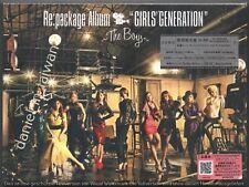 Girls' Generation: The Boys Re:package Album (2011) JAPAN CD & DVD & 36p SEALED