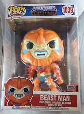 """New Masters of the Universe Beast Man 10"""" Nycc 2020 Us Exclusive 1039 Pop! Vinyl"""