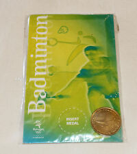 Badminton Sydney 2000 Olympic Games Shell Commemorative Medallion New