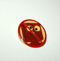 Vintage Gumby & Pokey No J Blockhead Block Head Collectible Pin 1980s New NOS