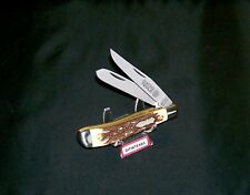 Schrade 285UH Knife USA Made 1980's Matco Tools Edition Trapper No Box or Papers