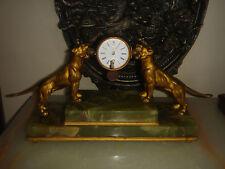 ANTIQUE BRONZE FRENCH OR AUSTRIAN CLOCK FOR REPAIR