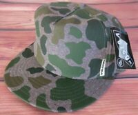 MENS VOLCOM CAMOUFLAGE HAT SNAPBACK ADJUSTABLE CAP ONE SIZE