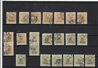 Japan  used stamps Ref 15889
