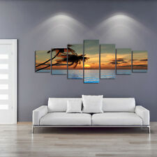 PALMS - EXTRA LARGE SPLIT FRAMED CANVAS PRINTS ! Modern Exclusive Art