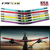 Downhill/MTB Bike Handlebar 31.8*780mm Aluminum Alloy 18mm Riser Bar Lightweight