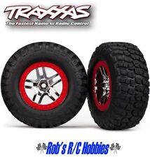 TRAXXAS  Tire & Wheel Chrome, Red (2): R 2WDSlash, Slash 4x4 (TRA6873A)