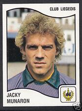 Panini Sticker - Belgium Football 1990 - No 187 - Club Liegeois - Jacky Munaron
