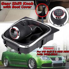 Voiture 5 Vitesses Pommeau Levier Shift Knob Pour VW Golf 5 6 MK5 6 Jetta 05-14