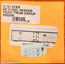Tichy Train Group Decal #10230N Illinois Central 40/' SS Boxcar Decal