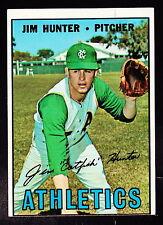 1967 TOPPS #369 JIM 'CATFISH' HUNTER A'S
