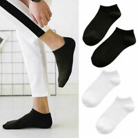 6 Pairs Mens Sports Socks Crew Ankle Low Cut Casual Soft Breathable Short Socks