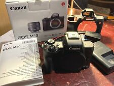 Canon EOS M50 24.1 MP Digital Camera Body