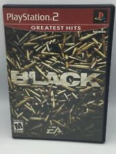 Sony Play Station 2 PS2 Black Greatest Hits Complete W/ Instructions Ships Free