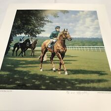 "Print Roy Miller ""Generous & Alan Munro Ascot 1991"" Ltd Ed A/P 50 Pencil Signed"