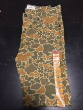Levis 511 Skinny 30 Duck Camo Rare Vintage 501 Army Stretch Denim Raw Selvedge
