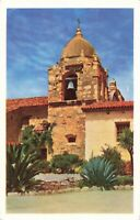Postcard Bell Tower Carmel Mission California