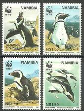 Namibia - Brillenpinguin Satz postfrisch 1997 Mi. 837-840
