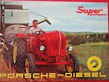 PORSCHE ALLGAIER ZF Prospekt  Schlepper Bulldog Landmaschine no Fendt Deutz IHC