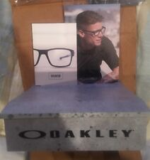 RARE Oakley  DISPLAY Sunglass STAND classy Ryan Sheckler Sliver Latch
