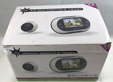 3.5 inch 170 degrees Wide Angle Peephole LCD Digital Door Viewer