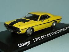 Greenlight 1/43 1970 Dodge Challenger R/t Yellow MIB