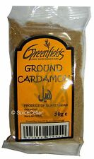 Cardamom Ground Spice - 50g Bag - Greenfields