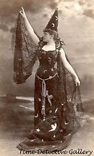 An Elegant Victorian Witch - Historic Photo Print