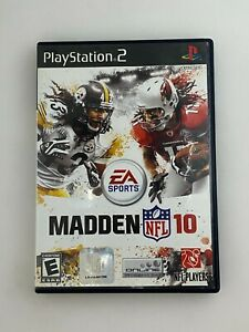 Madden NFL 10 - Playstation 2 PS2 Game - Complete & Tested