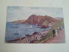 A R QUINTON Postcard 935 CAPSTONE PARADE ILFRACOMBE Franked+Stamped 1917  §A2196