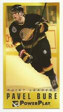 1993-94 Power Play Point Leaders #1 PAVEL BURE Vancouver Canucks