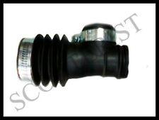 Lambretta LI TV Series 1 2 Carb Carburettor Air Hose Pipe Rubber Black Clamps