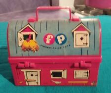 1962 Vintage Fisher Price #549 Barn Lunch Box