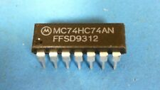 50-pcs of MC74HC74AN Flip Flop D-Type Pos-Edge 2-Element Automotive 14-Pin PDIP